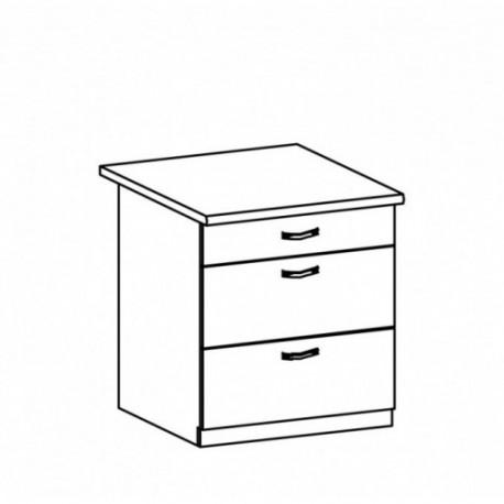 Szafka kuchenna dolna z szufladami - D80S3