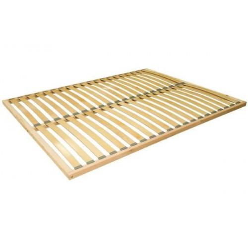 STELAŻ 160x200 drewniany (2x20 lameli)